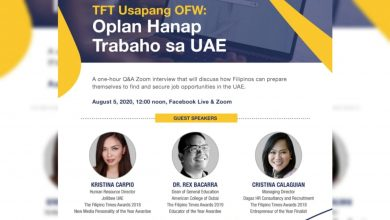 Photo of TFT to host free webinar to help Filipinos land a job in UAE