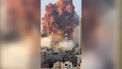 Photo of WATCH: Large explosion in Beirut leaves many injured