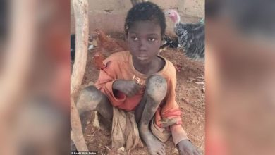 Photo of After being chained in animal shed for 2 years, boy in Nigeria gets rescued from father, stepmothers