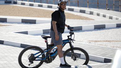Photo of WATCH: RAK Ruler rides bike on UAE's highest peak