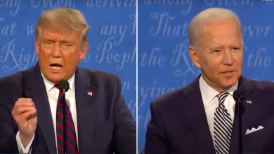 Photo of US Presidential candidate Joe Biden uses 'Inshallah' during debate with Trump