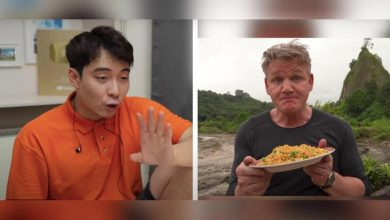 Photo of Uncle Roger approves Gordon Ramsay's nasi goreng; Gordon responds
