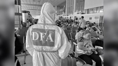 Photo of DFA: 317 Filipinos repatriated from Lebanon