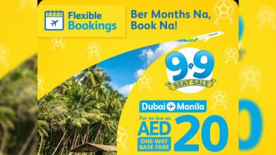 Photo of Cebu Pacific's Dubai-Manila flights up for grabs for as low as AED20
