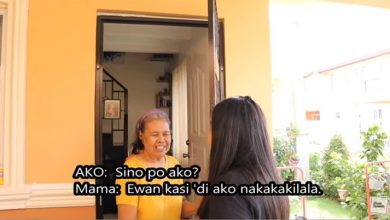 Photo of VIDEO: OFW's homecoming turns into a sad reunion with mother who can no longer recognize her