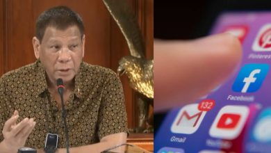 Photo of Duterte slams Facebook: Why would we allow you to continue?