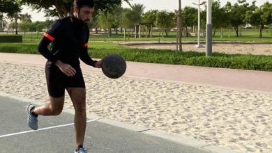 Photo of New Guinness world record set in Dubai: Fastest mile dribbling a basketball