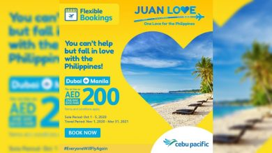 Photo of Cebu Pacific launches new Philippine tourism campaign with Dubai-Manila flights seat sale for as low as AED200