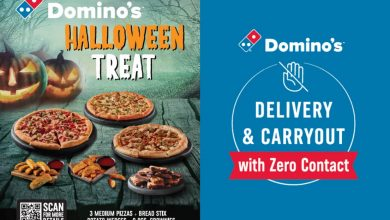 Photo of Domino's Pizza Halloween Treat