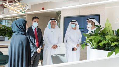 Photo of Al Zeyoudi visits Etihad Credit Insurance office
