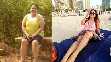 Photo of #WeightGoals: Dubai-based Filipina undergoes massive 40kg transformation