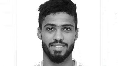 Photo of Emirati footballer Sultan Saif, wife and son die in Abu Dhabi car crash
