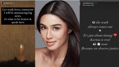 Photo of LOOK: Sandra Lemonon posts cryptic messages following winners' announcement of Miss Universe Philippines 2020