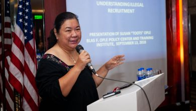 Photo of OFW advocate Susan Ople battles stage 2 breast cancer
