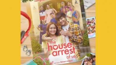 "Photo of Kathryn Bernardo, Daniel Padilla reunite in digital movie series ""The House Arrest of Us"""