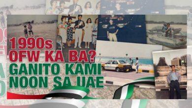 Photo of 1990s OFW ka ba? Ganito kami noon sa UAE