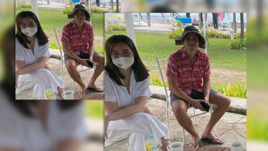 Photo of LOOK: John Lloyd Cruz, Bea Alonzo spotted in Batangas
