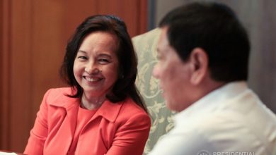 Photo of Ex-president Arroyo named as Duterte's adviser, to receive one peso salary per year