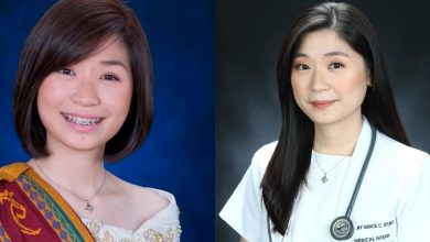 Photo of UP Diliman's highest grade record-holder among medical board topnotchers