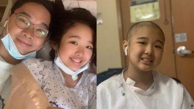 Photo of Anthony Taberna emotional over daughter's leukemia battle