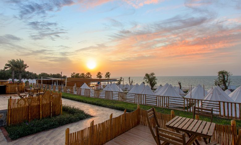 Photo of Experience your cool winter escape by glamping at the Longbeach Campground in Ras Al Khaimah