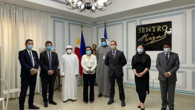 Photo of UAE delegation to visit family of deceased Filipino nurse
