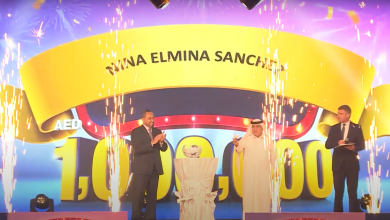 Photo of Filipina wins one million dirhams after sending AED 186 to her father through Al Ansari Exchange