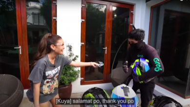 Photo of Ivana surprises riders with new helmets, PHP10K cash