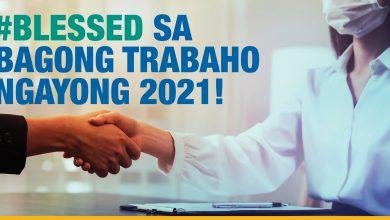 Photo of #Blessed sa bagong trabaho ngayong 2021!