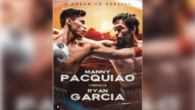 Photo of Ryan Garcia confirms fight with Manny Pacquiao