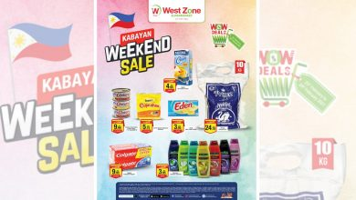 Photo of West Zone 'Wow Deals' features all-Filipino products in limited offer