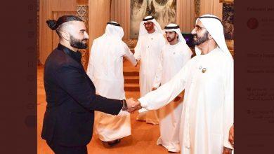 Photo of Radio presenter Kris Fade recent recepient of UAE's Golden Visa