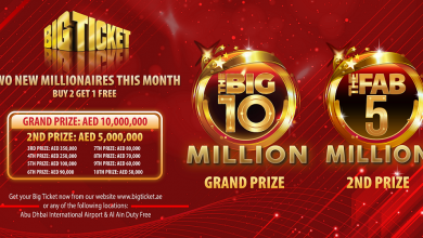 Photo of Big Ticket to award AED 10M grand prize, AED 5M second prize for March 2021 raffle