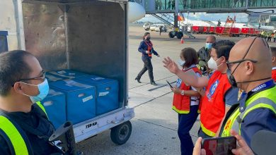 Photo of LOOK: Sinovac COVID-19 vaccines arrive in Davao and Cebu