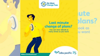 Photo of Cebu Pacific permanently removes change fees