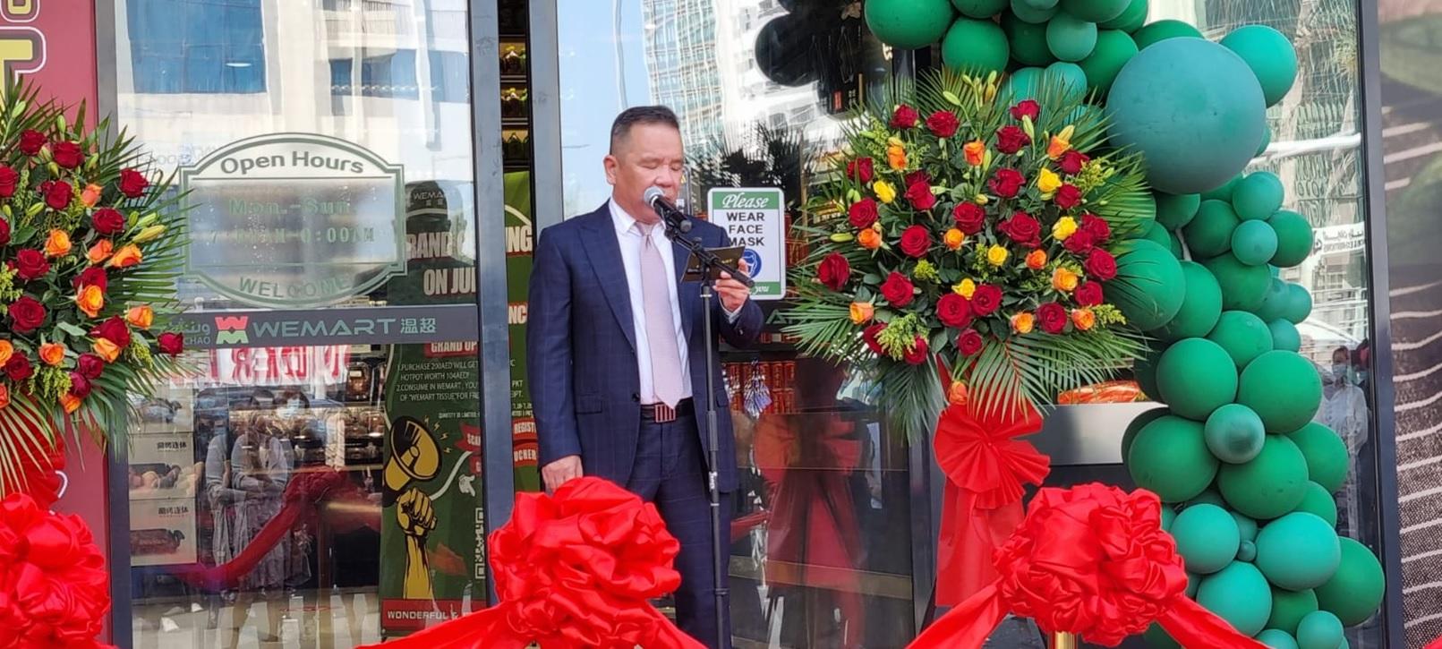 Jason Sun, founder of Wenchao Group